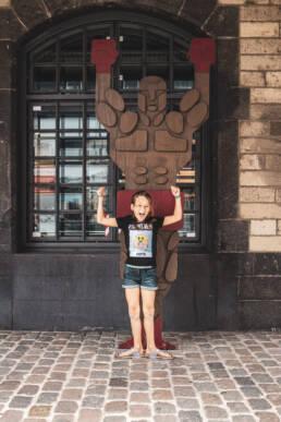 Portrait Mädchen Olympia Museum