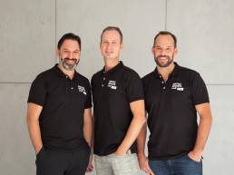 Ortho Sports Lab Teamfoto Ärzteteam Business Portrait